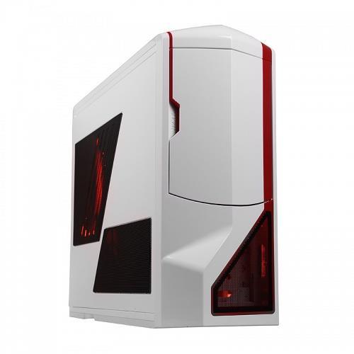 NZXT PC skříň Phantom bílo-červená