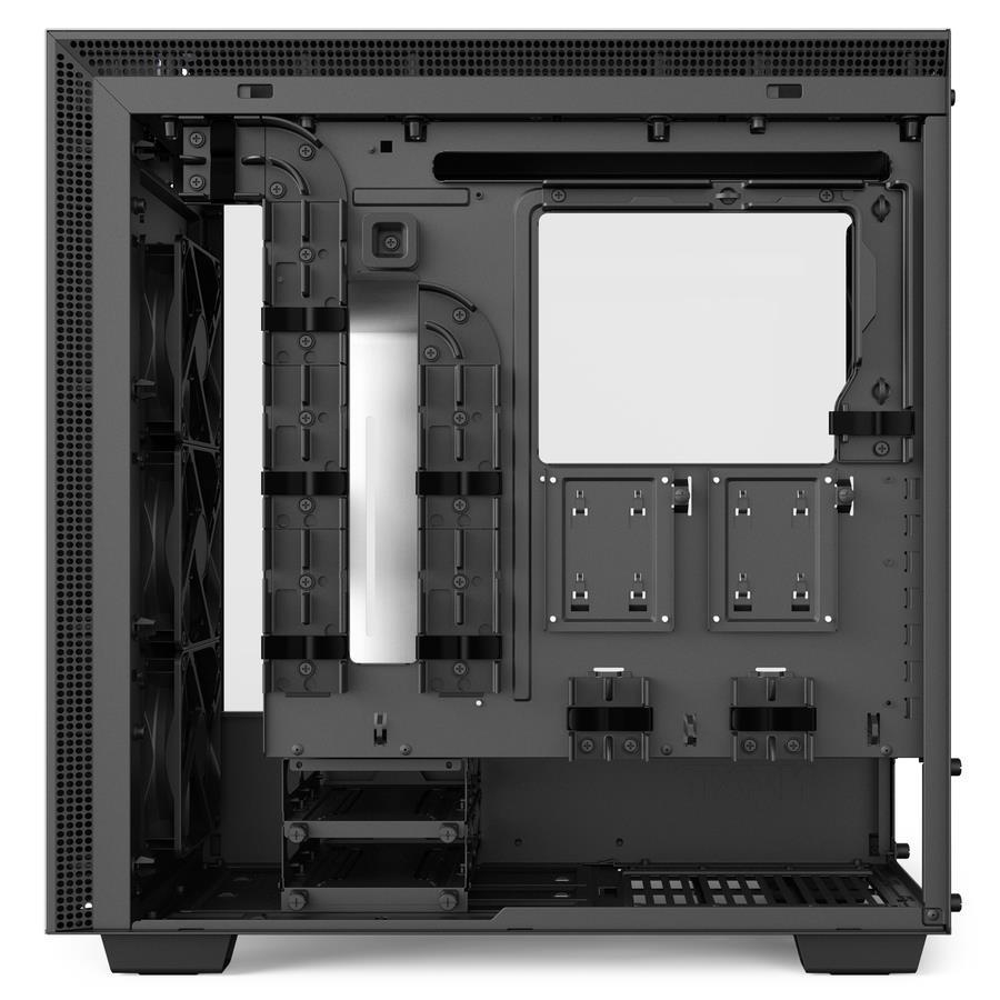 NZXT PC skříň H700i, matná bílá