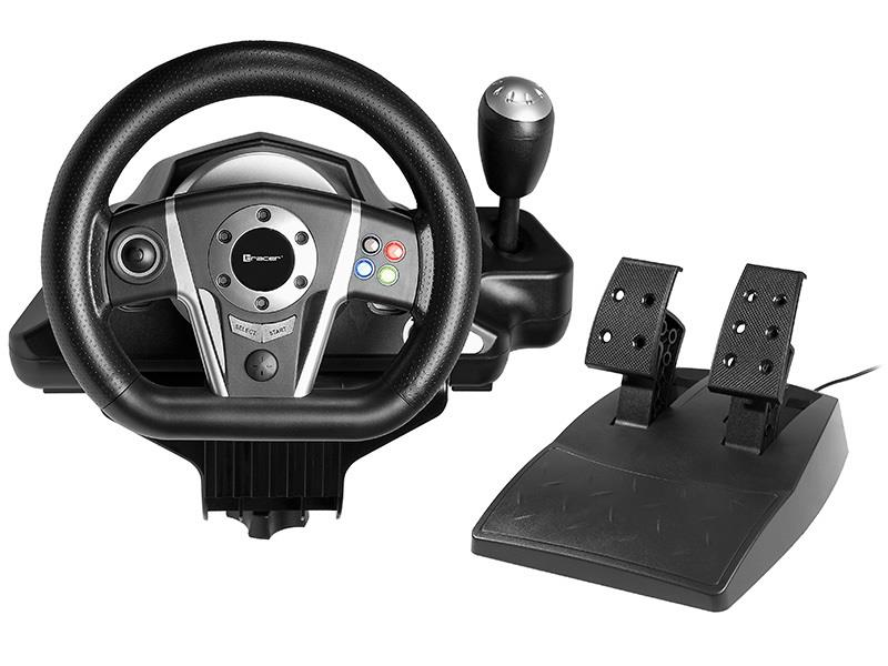 Steering Wheel TRACER Viper PS3/PS2/PC/(X-INPUT/D-INPUT)