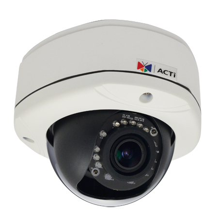 ACTi D82A,VF.Dome,3M,OD,f2.8-12mm,PoE,IR