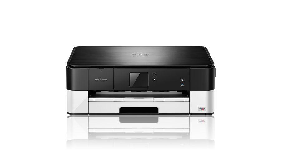 Brother DCP-J4120DW, tiskárna/kopírka/skener, tisk na šířku, duplexní tisk, síť, WiFi, dotykový LCD - ROZBALENO !