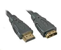 PREMIUMCORD Kabel prodlužovací HDMI - HDMI 2m, zlacené konektory