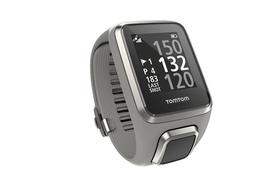 TomTom GPS hodinky Golfer 2 (S), světle šedá