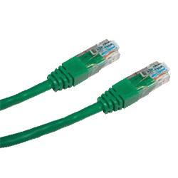 CNS patch kabel Cat5E, UTP - 1m , zelený