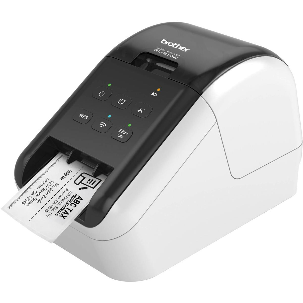 Brother QL-810W tiskárna samolepících štítků, WiFi
