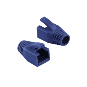 LOGILINK - Strain Relief Boot 8.0 mm for Cat.6 RJ45 plugs, blue