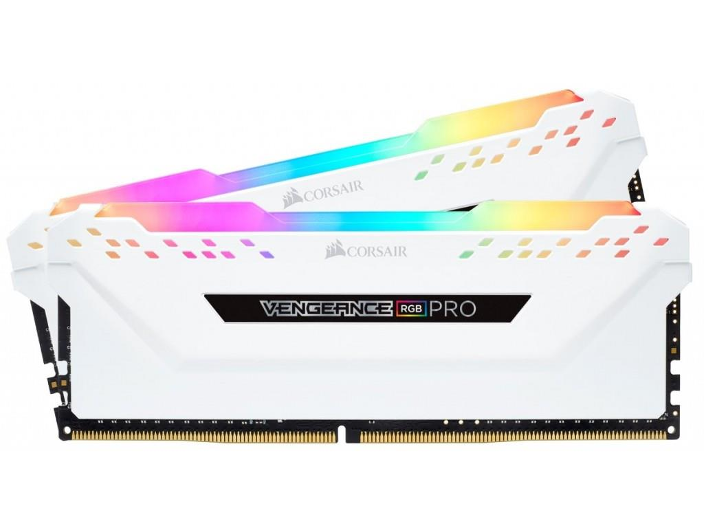 Corsair Vengeance RGB PRO 16GB (2 x 8GB) DDR4 2666MHz XMP 2.0 White