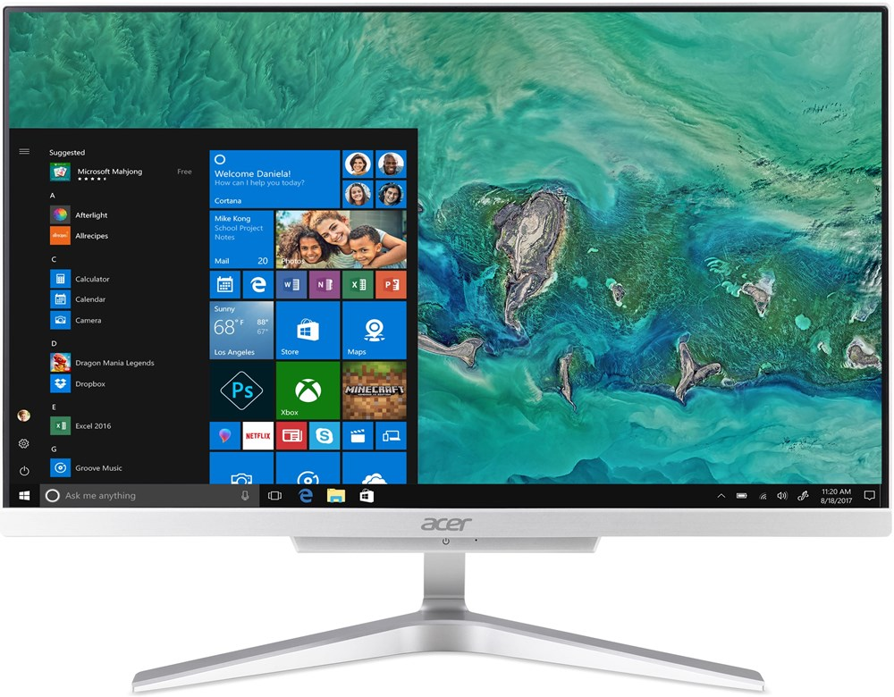 "Acer Aspire C22-865 ALL-IN-ONE 21,5"" LED FHD/i3 -8130U /4GB/1TB/ DVD-RW /Intel® HD Graphics/No OS"