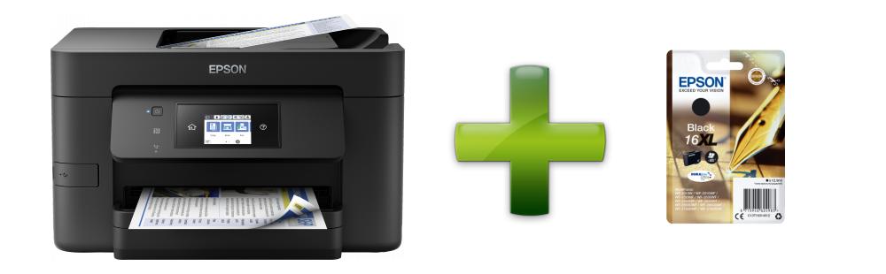 WorkForce Pro WF-3720DWF+ černý inkoust zdarma