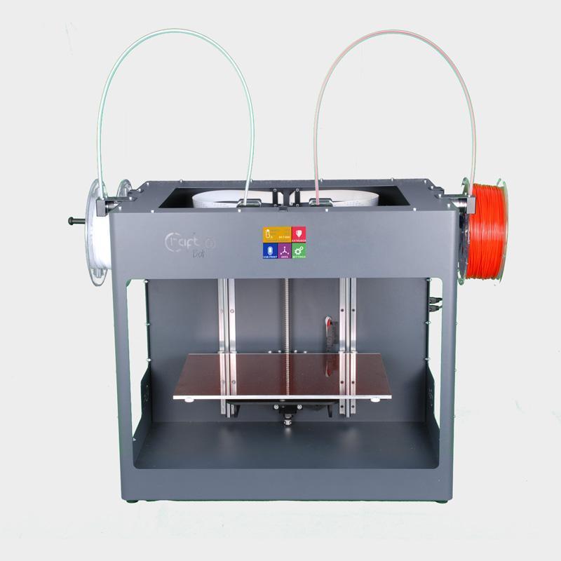 Printer 3D, CRAFTBOT 3 (GRAY) + filaments Devil Design PLA 1,75 1kg