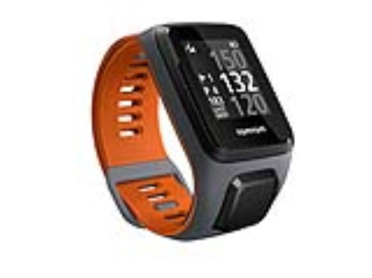 TomTom GPS hodinky Golfer 2 SE (L), šedá/oranžová