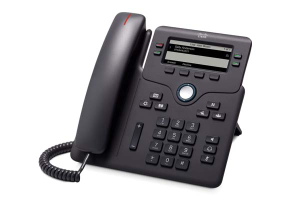 Cisco IP Phone 6851 with power adapter