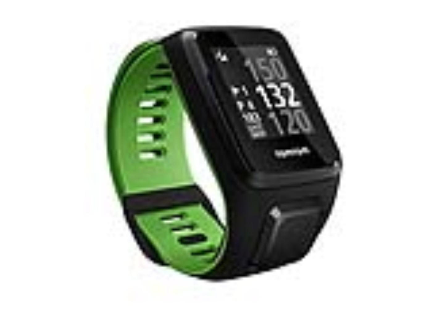TomTom GPS hodinky Golfer 2 SE (L), černá/zelená