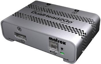 MATROX DualHead2Go Digital ME, 2xDVI-D, miniDP/Thunderbolt output