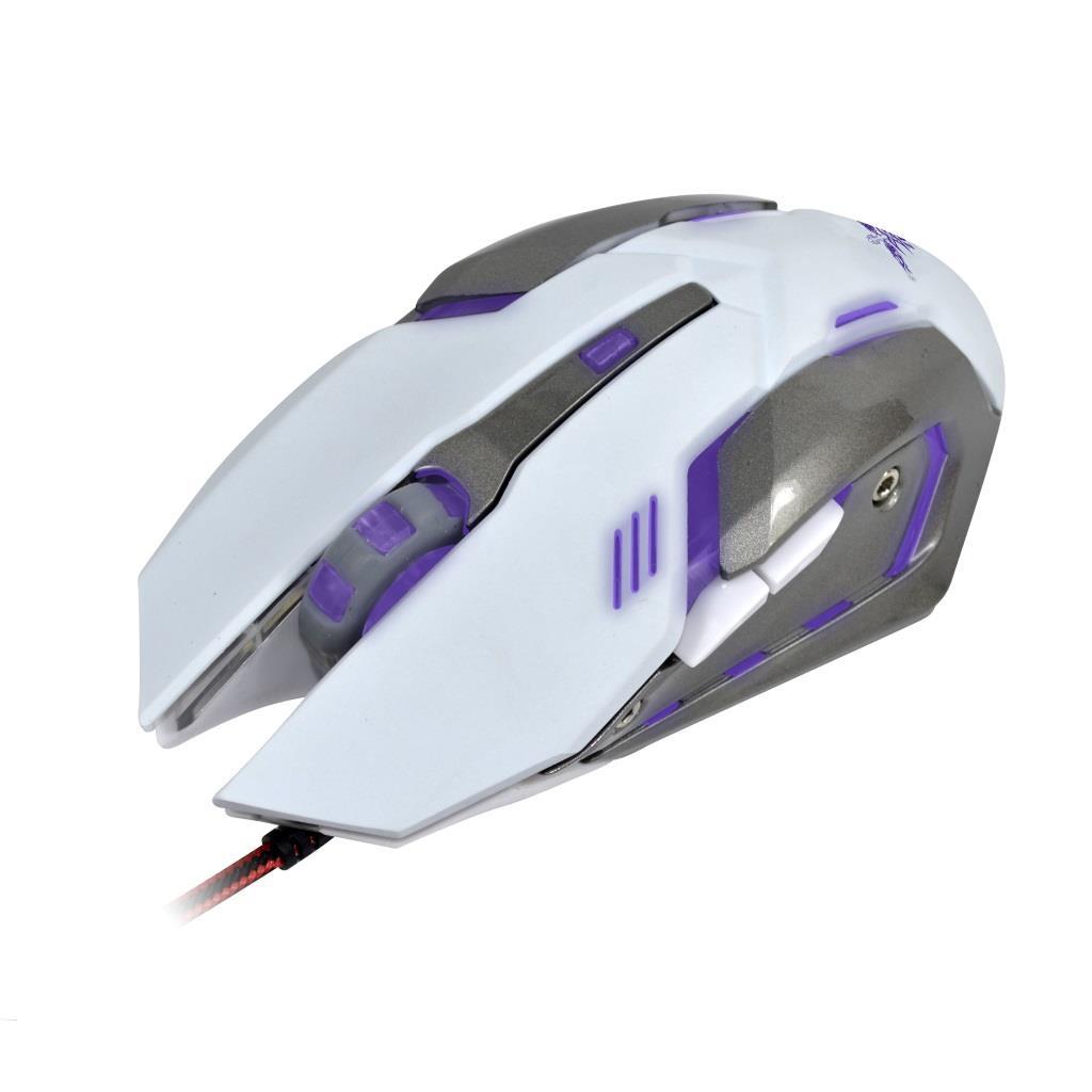 X-ZERO Herní optická myš 6D, 3200dpi, multifunkční tlačítka X-M372WA