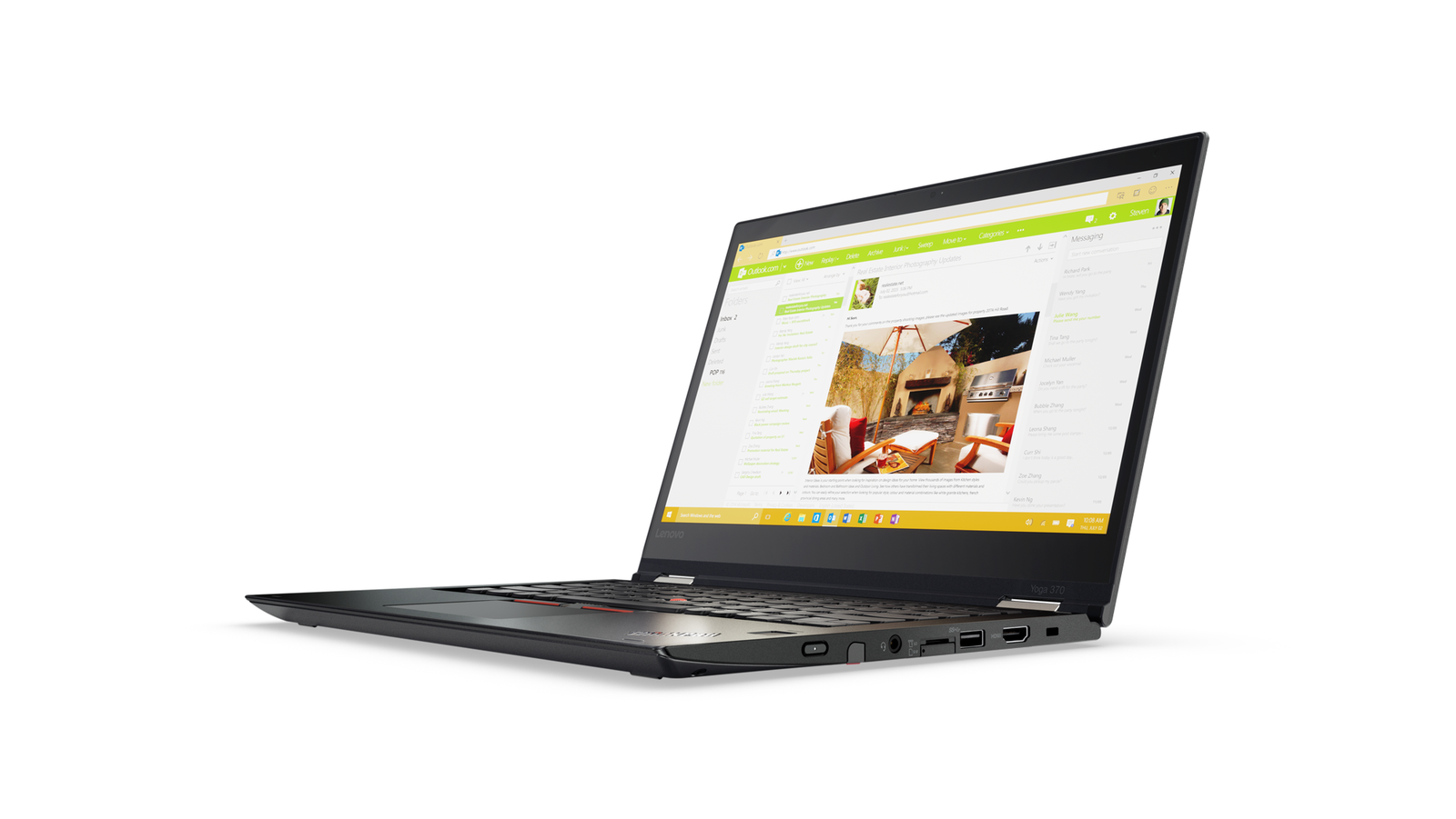 Lenovo Thinkpad Yoga 370 13,3''/i5-7200U/8GB/512SSD/Intel HD/4G/W10P/Bl