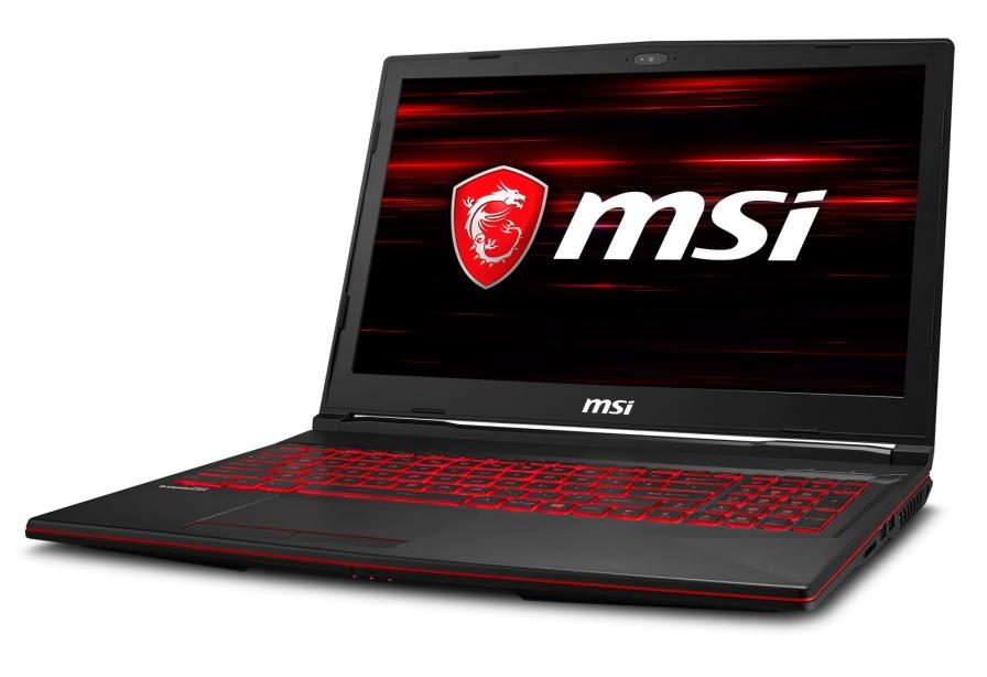 MSI GL63 8RD-253CZ 15,6 FHD 94%/ i7-8750H/GTX1050 Ti 4GB/16GB/256GB + 1TB 7200ot./W10