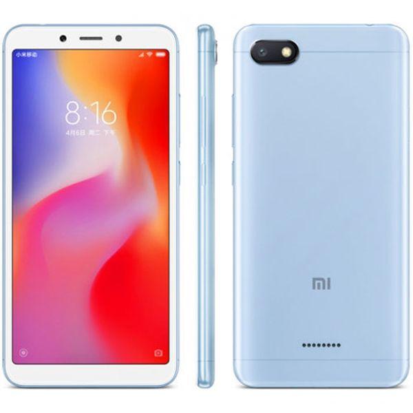 Xiaomi Redmi 6A Global Blue/5,45´´ 1440x720 HD+/2GHz OC/2GB/32GB/SD/2xSIM/FP/13MPx/3000mAh