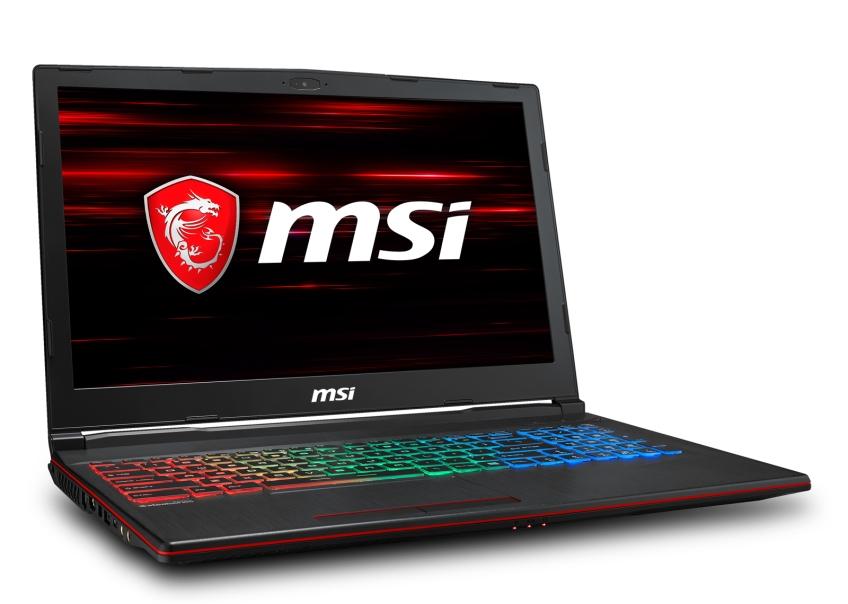"MSI GP63 8RE-430CZ Leopard /i5-8300H Coffeelake/16GB/1TB HDD 7200ot./GTX 1060, 6GB/15,6"" FHD/Win10"