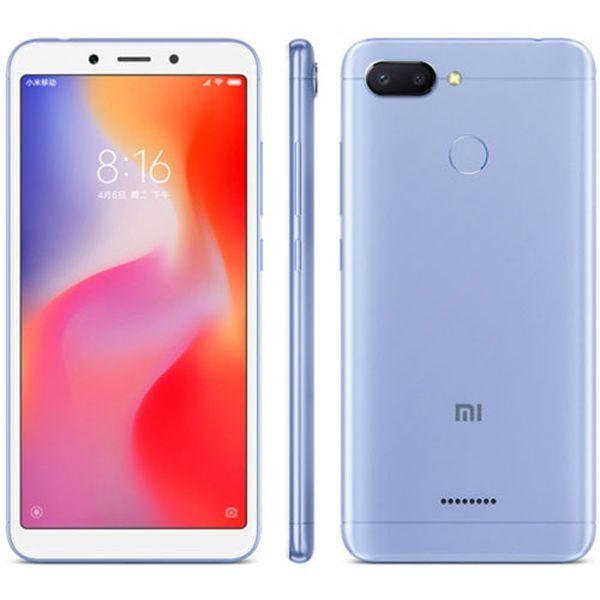 Xiaomi Redmi 6 Global Blue/5,45´´ 1440x720 HD+/2GHz OC/4GB/64GB/SD/2xSIM/FP/12MPx+5MPx/3000mAh
