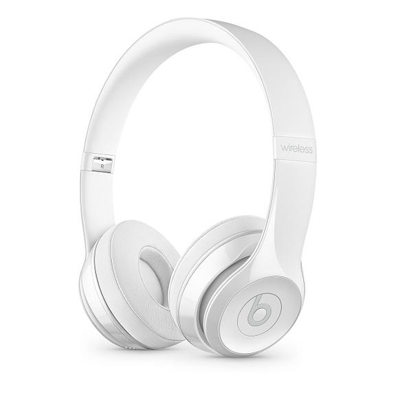 Beats Solo3 Wireless On-Ear Headphones - Gl. White