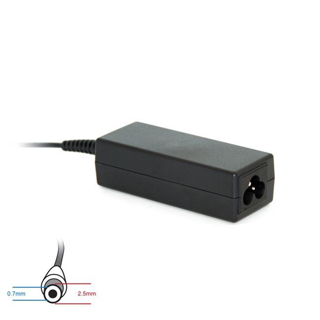 Digitalbox napájecí adaptér pro Asus EEE PC 19V/2.1A 40W, (2.5x0.7)