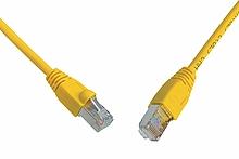 Patch kabel CAT5E SFTP PVC 3m žlutý