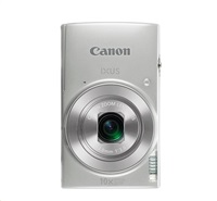 "Canon IXUS 190 SILVER - 20MP, 10x zoom, 24-240mm, 2,7"", HD video, WiFi"