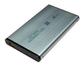 LOGILINK - Rámeček pro 2.5'' SATA HDD USB 2.0 stříbrný