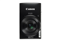 "Canon IXUS 190 BLACK - 20MP, 10x zoom, 24-240mm, 2,7"", HD video, WiFi"