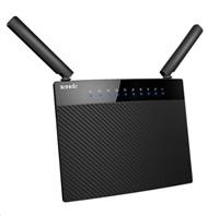 Tenda AC9 Wireless AC Router 1200Mb/s, 1x USB, 1x GWAN, 4x GLAN, FTP/VPN/SAMBA/Print Server, 2x 5dBi