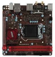 MSI B250I GAMING PRO AC 1151, DDR4, 4x SATAIII, HDMI, DVI, Mini-ITX
