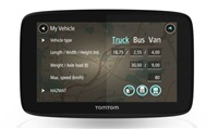 TomTom GO Professional 520 EU, Wi-Fi, LIFETIME mapy