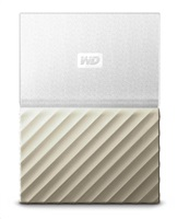 "WD My Passport ULTRA METAL 1TB Ext. 2.5"" USB3.0 White/Gold"