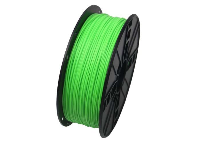 GEMBIRD Tisková struna (filament), PLA, 1,75mm, 1kg, fluorescentní, zelená