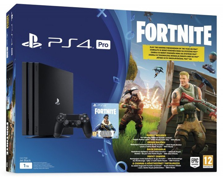 SONY PlayStation 4 PRO - 1TB + FORTNITE