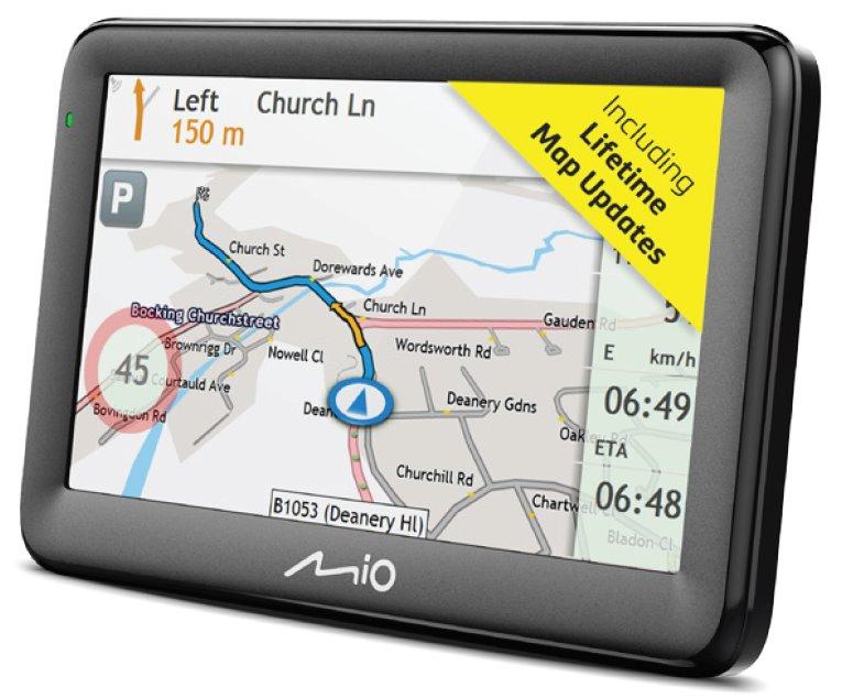 "MIO Pilot 15 LM navigace, LCD 5"", mapy EU, Lifetime"