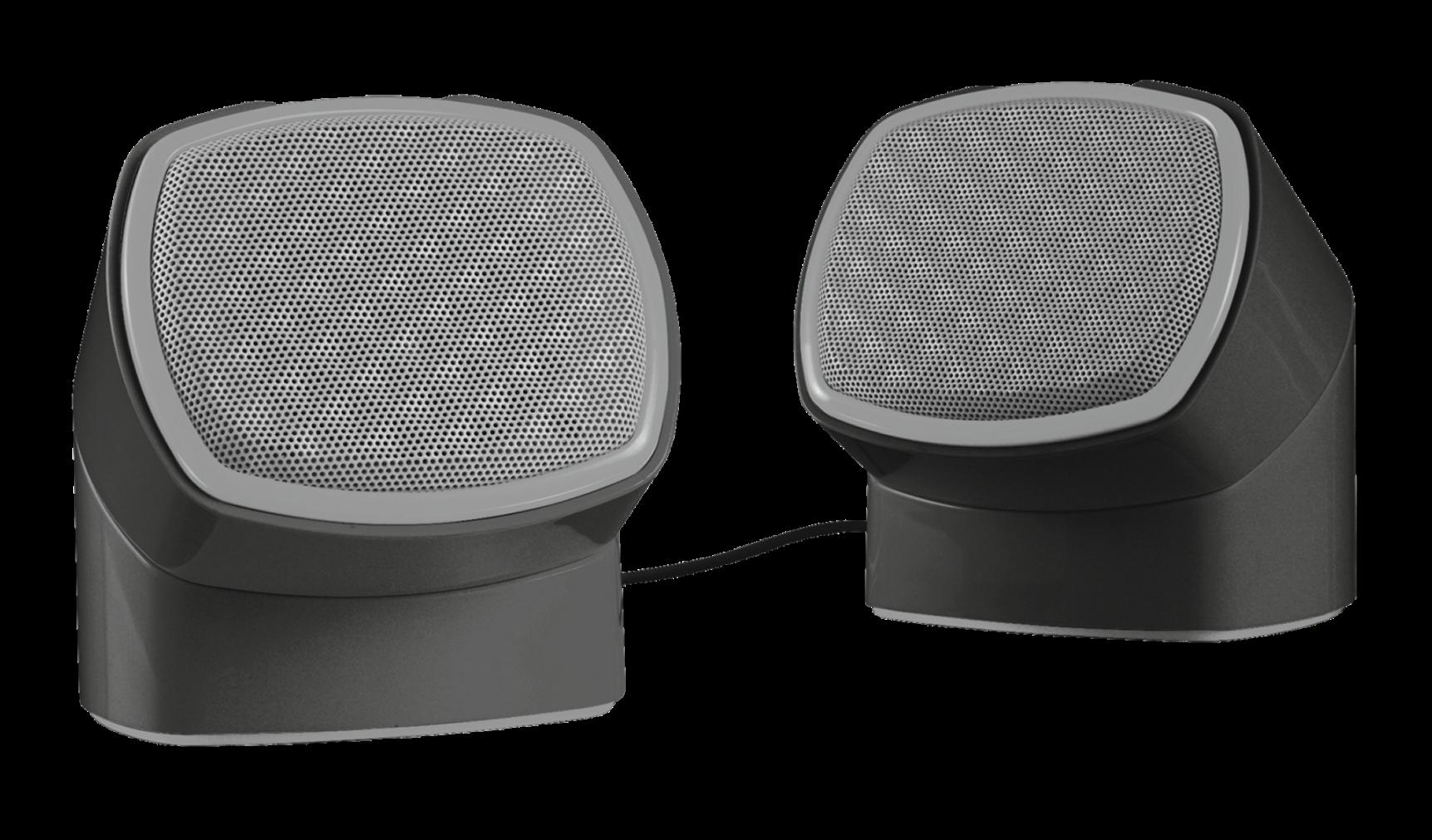 TRUST Reproduktory 2.0 Twizt Rotating Speaker Set, USB napájení