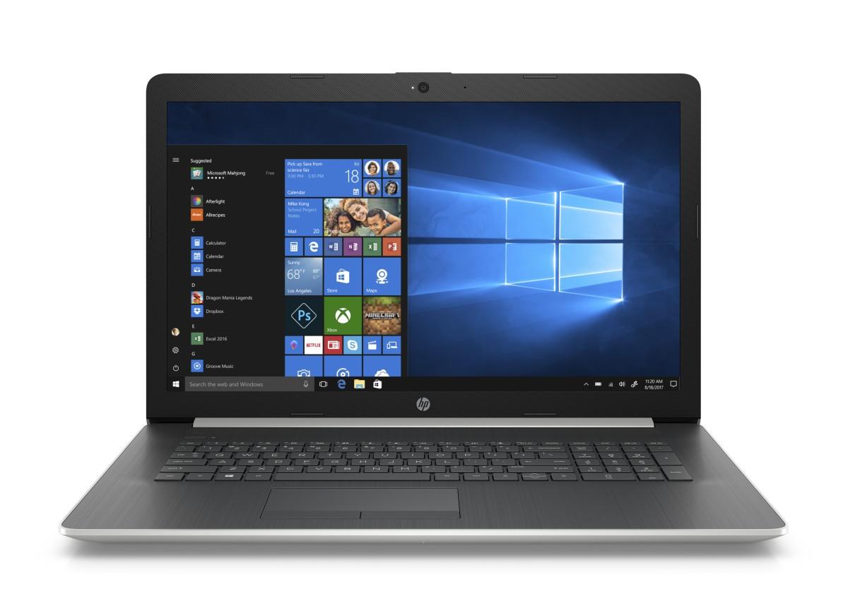 HP 17-ca0005nc A6-9225/8GB/1TB/ATI/DVD/2RServis/W10-silver
