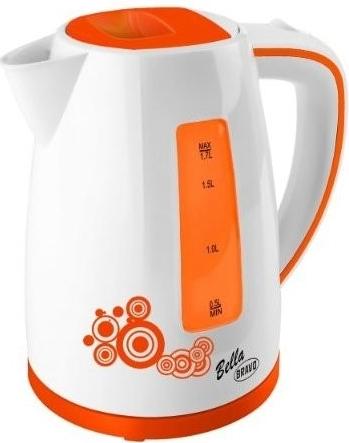 Konvice Bella B 4430, 1,8 litrů, oranžová