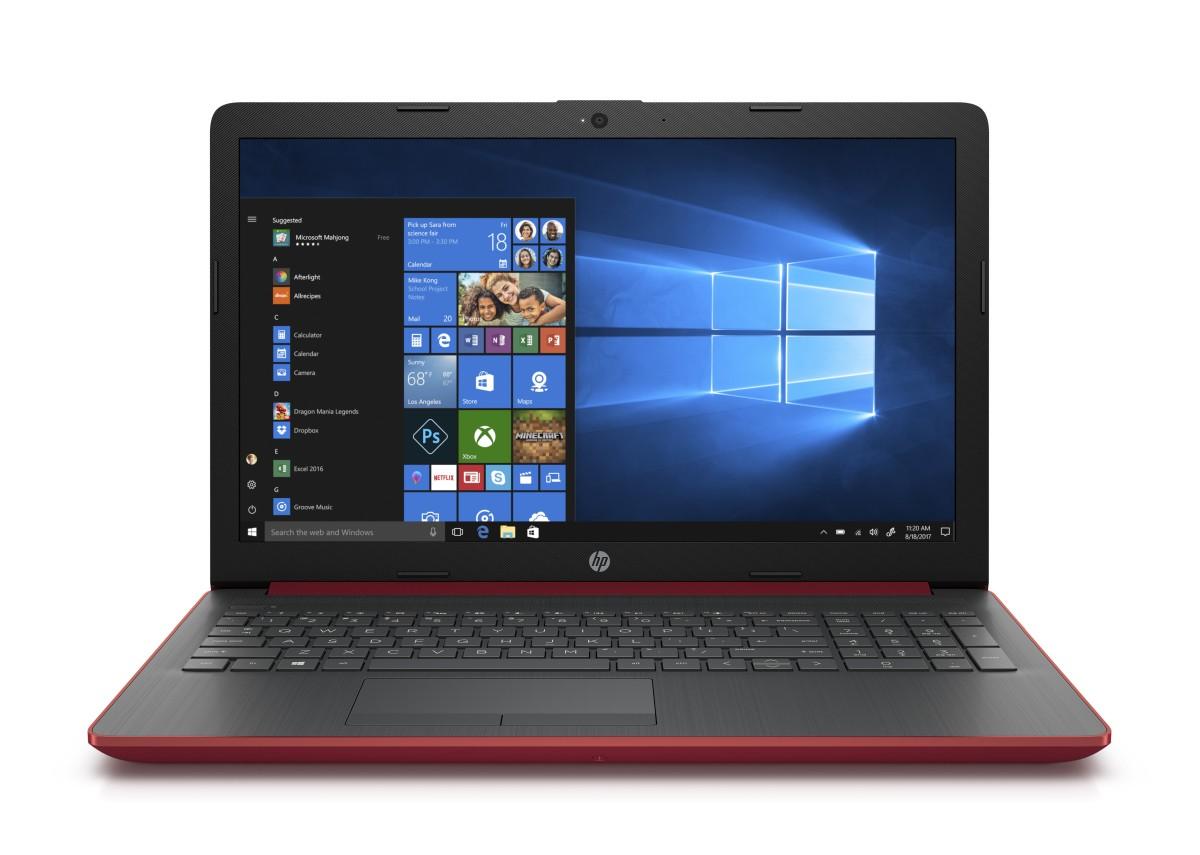 """HP NTB 15-db0036nc/15,6"""" HD AG/AMD A6-9225/8GB/1TB/Radeon 520/DVDRW/Win 10 Home/Scarlet-red"""