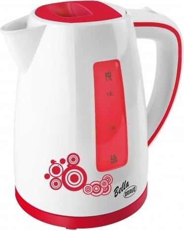 Konvice Bella B 4430, 1,8 litrů, červená