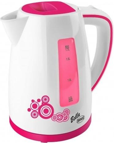 Konvice Bella B 4430, 1,8 litrů, růžová