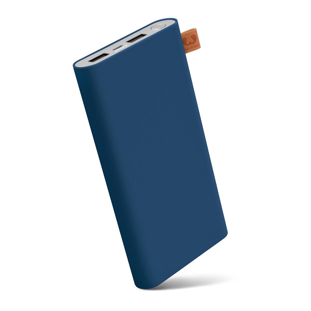 FRESH´N REBEL Powerbanka 12000 mAh, 3,1 A (max.), 2 porty, Indigo, indigově modrá (verze 2018)