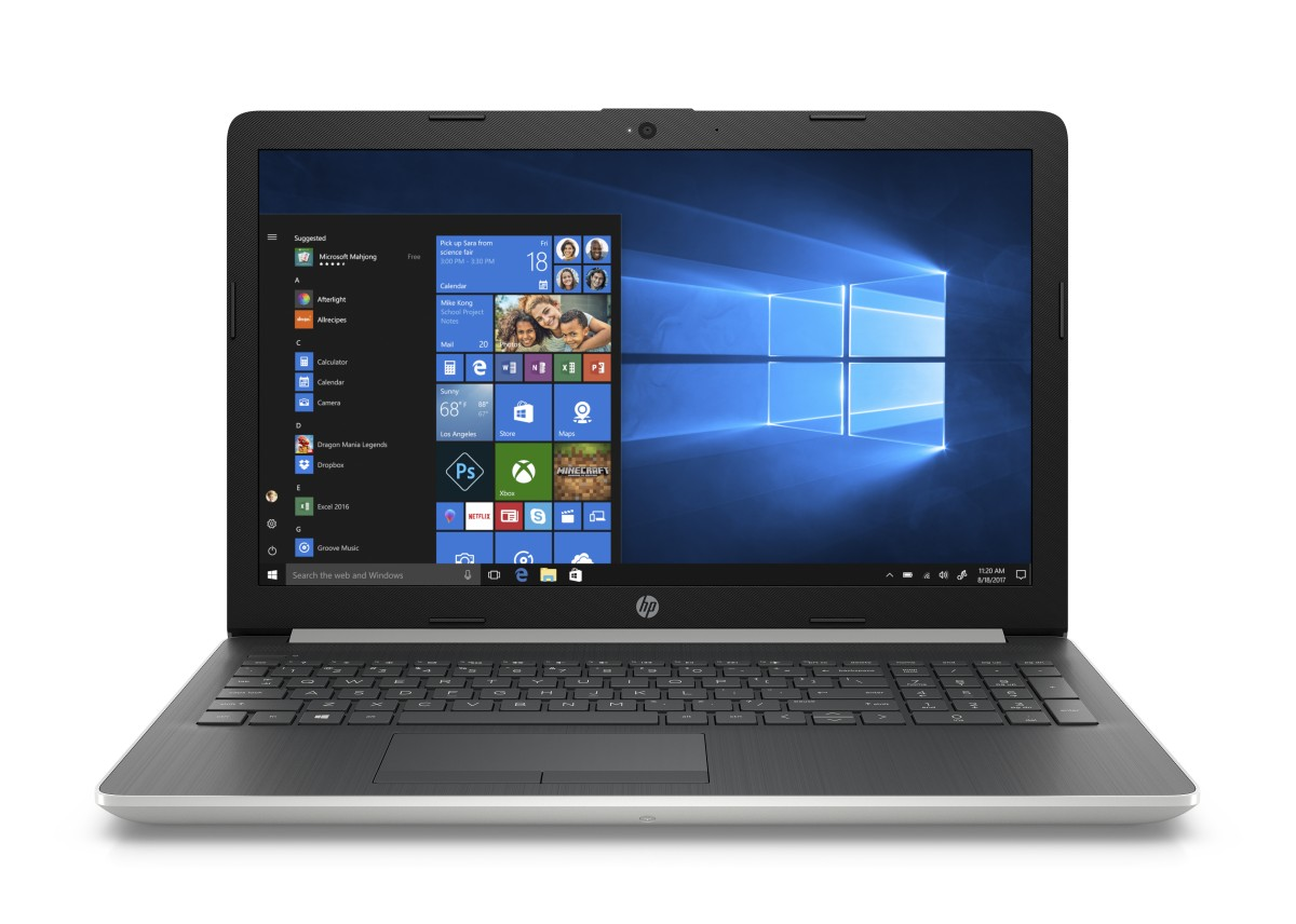 "HP NTB 15 -db0010nc/15,6"" HD AG/AMD A6-9225/8GB/256GB SSD/Radeon 520/DVDRW/Win 10 Home/Natural-silver"