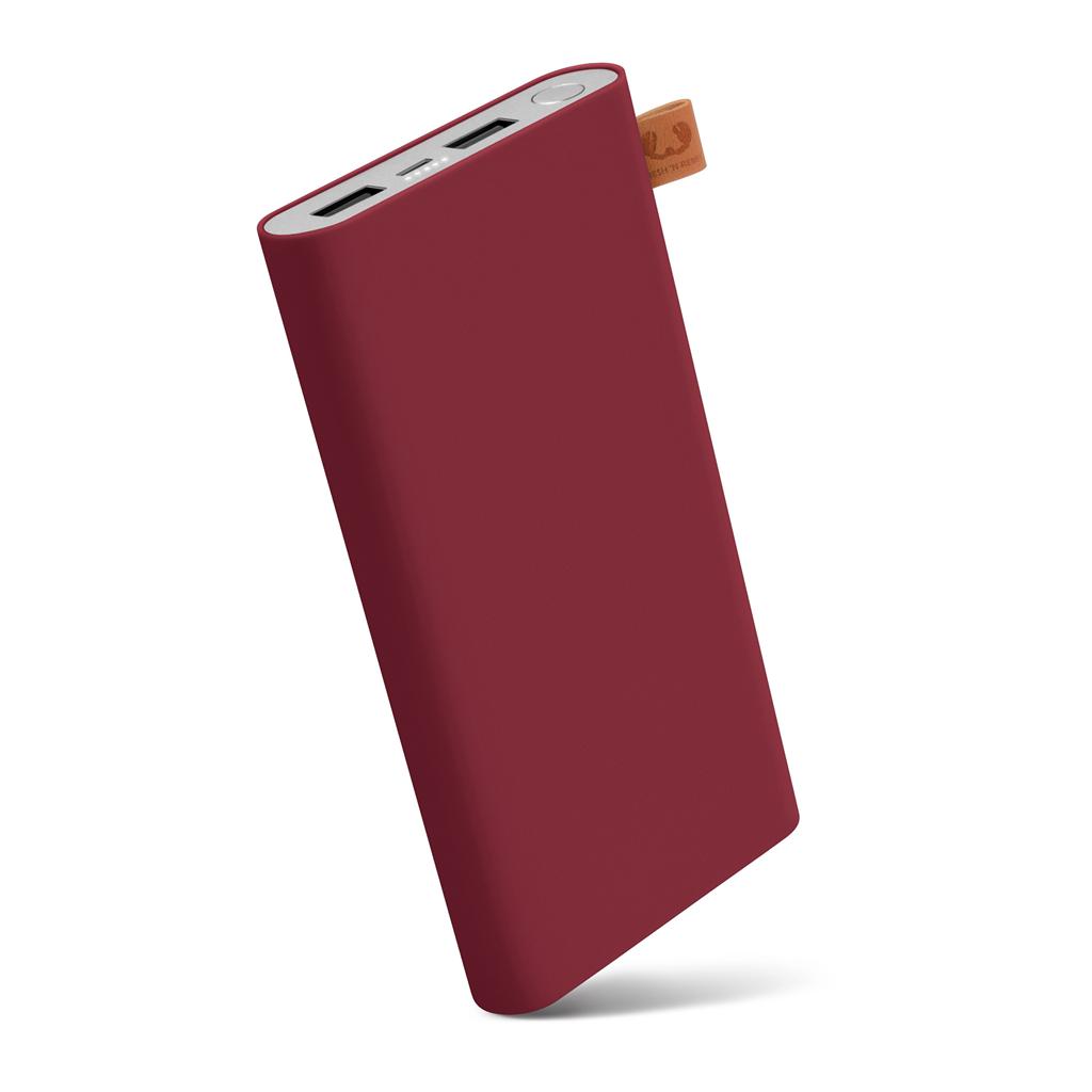 FRESH´N REBEL Powerbanka 12000 mAh, 3,1 A (max.), 2 porty, Ruby, rubínově červená (verze 2018)
