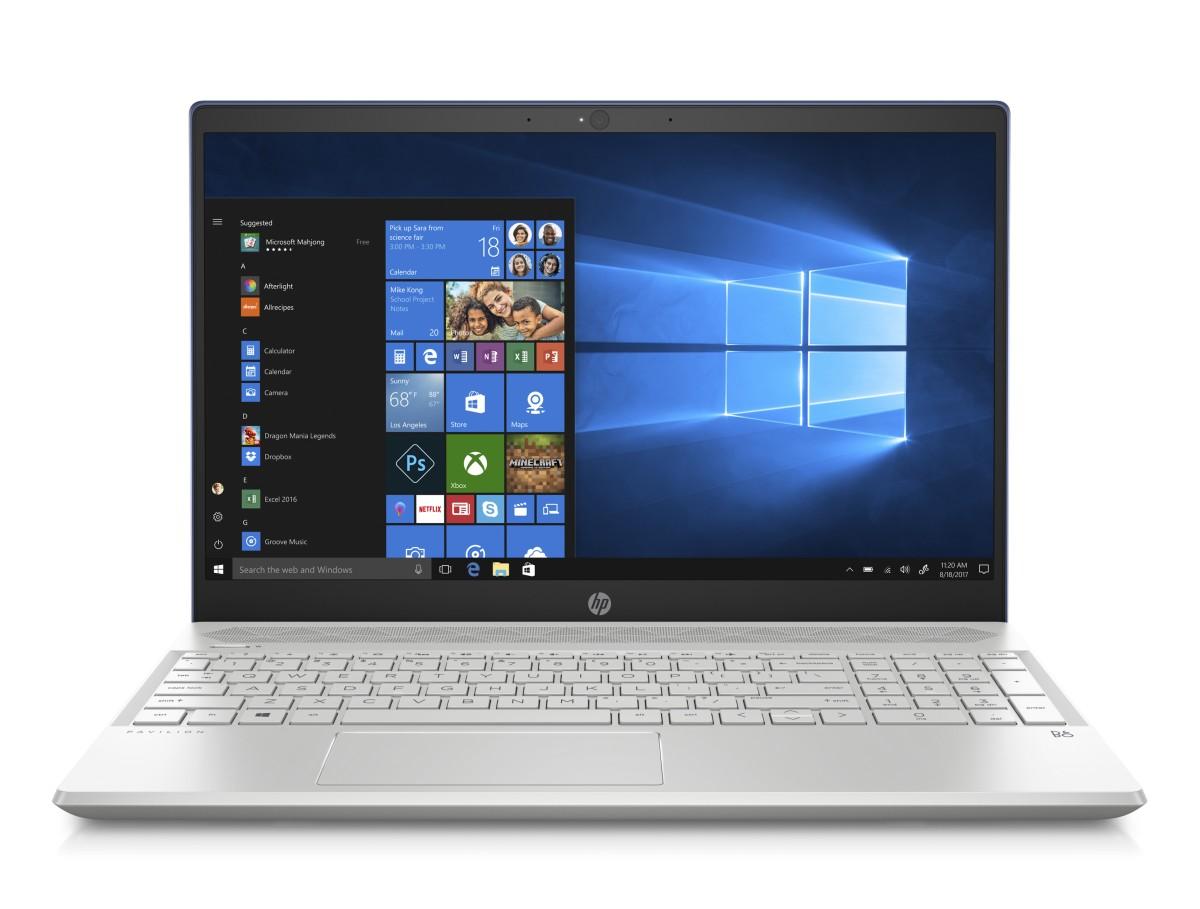 """NTB HP Pavilion 15-cs0016nc;15.6"""" IPS AG FHD;i5-8250U 6GB DDR4;256GB SSD;GeF MX130-2GB;USB3.1C;Win10 - blue"""