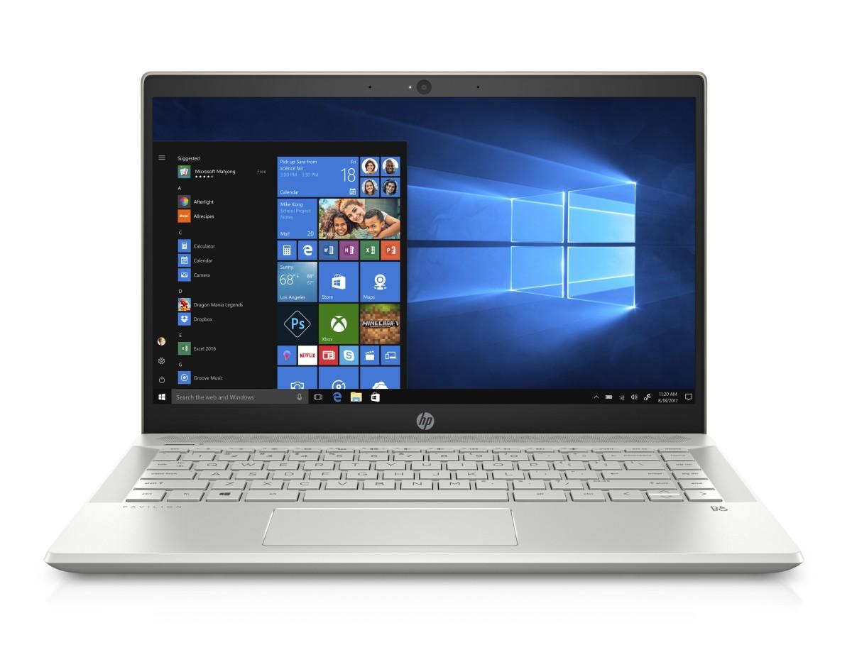 "HP NTB Pavilion 14-ce0010nc/14"" FHD AG/Intel i5-8250U/8GB/256GB SSD+1TB/MX 130/Win 10 Home/Pale-gold"