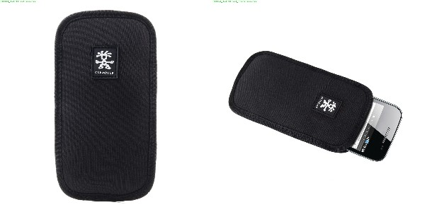 Crumpler Base Layer Smart Phone 85 - black/rust red