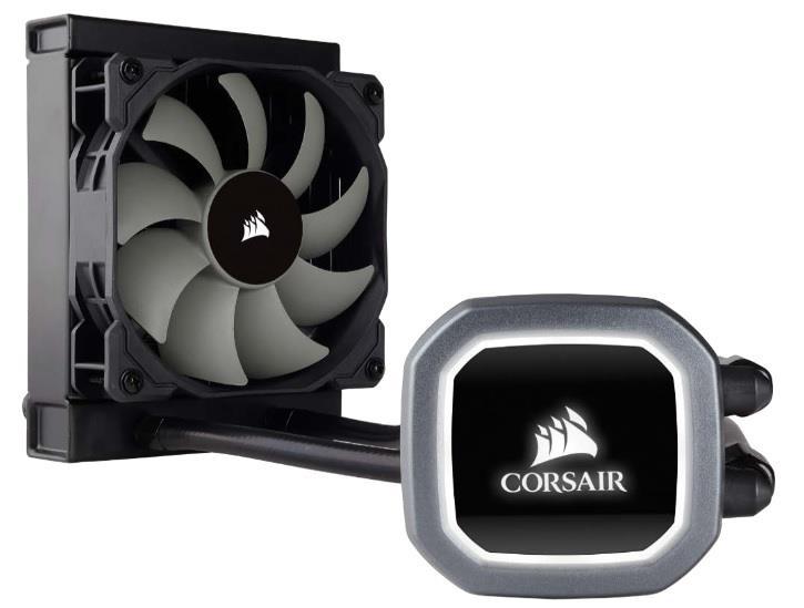 Corsair bezúdržbové vodní chlazení CPU Hyrdo Series H60, 120mm vent.